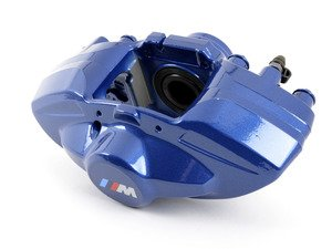 ES#2578159 - 34216799461 - Blue - M Performance Rear Caliper - Left  - Fits on the driver side. - Genuine BMW - BMW
