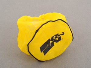 ES#514098 - RX-4990DY - Air Filter Wrap - Yellow - Hyrdro-lock and contaminant protection for round tapered air filters - K&N - Audi BMW Volkswagen Mercedes Benz MINI Porsche