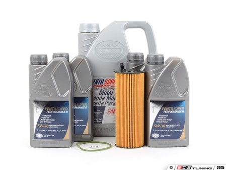 ES#2580305 - 057115561MKT2 - Oil Service Kit - Everything you need to perform an engine oil service - Assembled By ECS - Audi Volkswagen