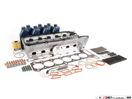 ES#2918768 - 11121703637-1KT - Complete Cylinder Head Basic Replacement Kit - Everything you will need to do a head service on your BMW - Assembled By ECS - BMW