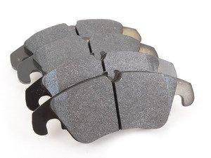 ES#2092632 - HB641Z.696 - Front Ceramic Brake Pad Set - Ceramic composite developed to meet the low dust & noise requirements - Hawk - Audi
