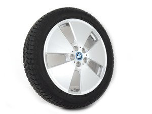 """ES#2698173 - 36112357088 - 19"""" Star Spoke Style 427 Wheel & Winter Tire - Priced Each - Get your i3 ready for winter - Genuine BMW - BMW"""