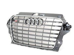 ES#2732568 - 8V5853651D1RR - S3 Grille Assembly - platinum grey - Clean up or change your look - Genuine Volkswagen Audi - Audi