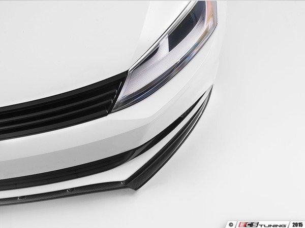 ES#2999134 - 014280ecs01aKT - Front Lip Spoiler - Carbon Fiber - Aggressive carbon fiber front lip for MK6 Jetta Sedan models - ECS - Volkswagen