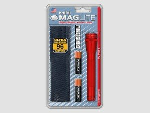 ES#2945247 - MAGM2A03H -  Mini Maglite Flashlight With Holster - Red - The most famous of the Durable, Scratch resistant, and Corrosion Proof Maglite is the Mini Maglite - MAG Instrument - Audi BMW Volkswagen Mercedes Benz MINI Porsche