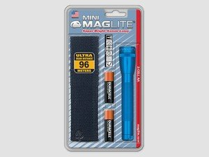 ES#2945249 - MAGM2A11H -  Mini Maglite Flashlight With Holster - Blue - The most famous of the Durable, Scratch resistant, and Corrosion Proof Maglite is the Mini Maglite - MAG Instrument - Audi BMW Volkswagen Mercedes Benz MINI Porsche