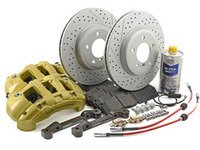 ES#2999151 - 341136466KT - ECS 6-Piston Front Big Brake Kit (325x25) - Give your BMW incredible stopping power - featuring 1-piece cross-drilled and slotted ECS GEOMET coated rotors. - Assembled By ECS - BMW