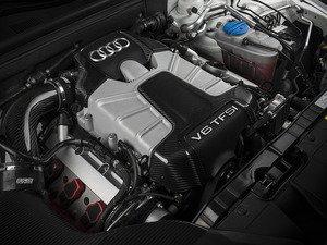 ES#2999048 - 015339ECS01 -  Carbon Fiber Engine Cover Kit - Add a touch of carbon fiber to your stock engine cover! - ECS - Audi