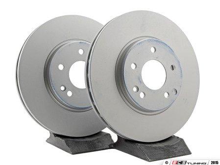 ES#2598529 - 2104212512KT3 - Front Brake Rotors - Pair - Does not include brake rotor securing screws - ATE - Mercedes Benz