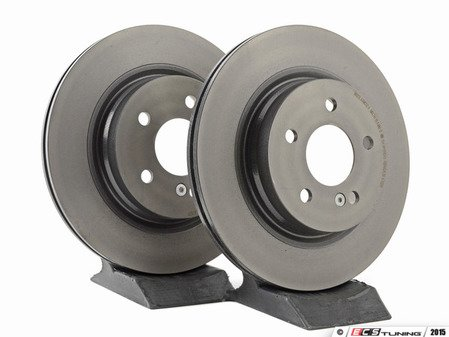 ES#2609093 - 2044230712KT2 - Rear Brake Rotors - Pair - Restore the stopping power in your vehicle - Brembo - Mercedes Benz