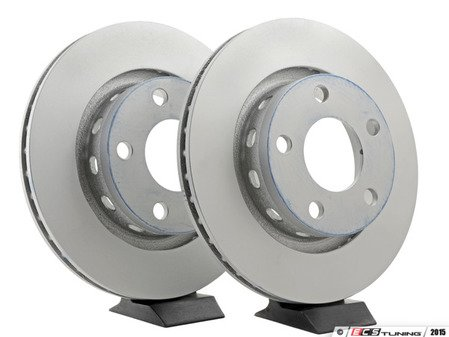 ES#2855157 - 4b3615601aKT - Rear Brake Rotors - Pair (269x22)  - Restore the stopping power in your vehicle - ATE - Audi Volkswagen