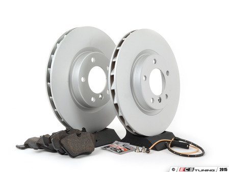 ES#2167900 - E36MZ3M3411 - Front Brake Service Kit - Featuring Pagid coated rotors and Pagid pads - Assembled By ECS - BMW