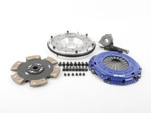ES#2575789 - SV874-281AKIT - Stage 4 Clutch Kit - Aluminum Flywheel (9lbs) - Ultimate street clutch, 6-puck disk holds up to 500 FT LBS TQ - Spec Clutches - Volkswagen