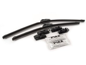 ES#2996939 - 9704860KT - SI-Tech Silicone Wiper Blade Set - Featuring durable silicone construction - PIAA - Volkswagen