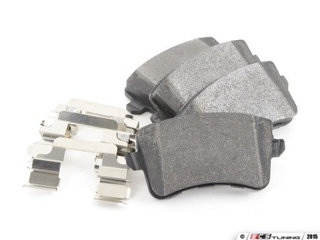 ES#2960483 - 104.13861 - Posi Quiet Semi-Metallic Brake Pads - Restore the stopping power in your vehicle - Centric - Audi