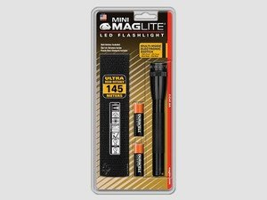 ES#2945262 - MAGSP2201H - Mini Maglite LED Flashlight With Holster - Black - The Durable, Scratch resistant, and Corrosion Proof Mini Maglite is the most famous of them all - MAG Instrument - Audi BMW Volkswagen Mercedes Benz MINI Porsche