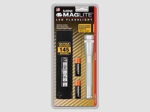 ES#2945264 - MAGSP2210H - Mini Maglite LED Flashlight With Holster - Silver - Durable, Corrosion Proof and Scratch resistant, Maglite is one of the most trusted name in flashlights - MAG Instrument - Audi BMW Volkswagen Mercedes Benz MINI Porsche