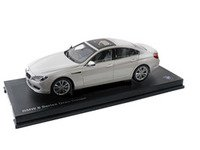 ES#2706775 - 80432218741 - 1:18 BMW 650i Gran Coupe Scale Model - Mineral White - A perfect addition to any enthusiast's die-cast collection - Genuine BMW - BMW