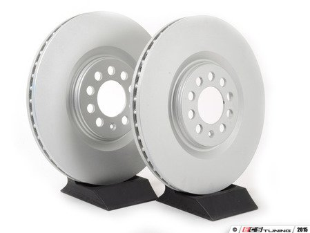 ES#2855163 - 8l0698301aaKT - Front Brake Rotors - Pair (312x25) - Restore the stopping power in your vehicle - ATE - Audi Volkswagen