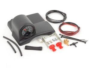 ES#3234 - B5PASSWPWVDOBGK - Boost Gauge With Steering Wheel Pod Kit - (NO LONGER AVAILABLE) - Offset steering column pod & Tri-Blue LED back lighting gauge - Assembled By ECS -