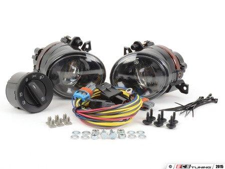 ES#2838973 - 1K0998020KT - Fog Light Kit - Projector - Fog lamp kit for customers who already have fog grilles - Assembled By ECS - Volkswagen