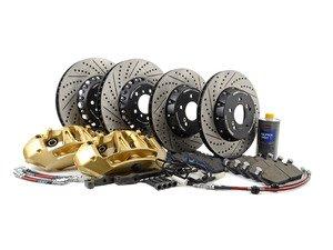 ES#3146295 - 004038ECS04GECKT - F8X M3/M4 Gold Brakes Upgrade for E9X M3 - ECS - BMW
