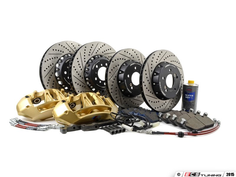 Ecs 004038ecs04kt1 Front 6 Piston Big Brake Kit Amp Rear