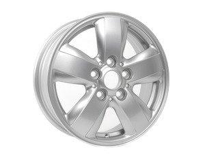 "ES#2756553 - 36116855101 - 492 MINI Heli Spoke Wheel 15"" (5x112) Silver - Priced Each - 5.5JX15 ET:46 - Genuine MINI - MINI"
