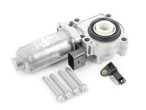 ES#48750 - 27107568267 - Transfer Case Actuator Motor - Used to proportion front/rear wheel torque - Genuine BMW - BMW