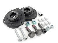 ES#3006390 - 1K0498002KT1 - Heavy duty Front Suspension Install Kit - Everything you need for a correct front suspension install - Featuring Upgraded ECS strut mounts with specialty tools - Assembled By ECS - Volkswagen