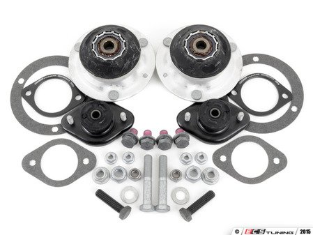 ES#3006377 - 313367796131KT - Cup Kit/Coilover Installation Kit - Without Spring Pads - Everything you need to install coilovers, shocks/struts, or a cup kit on your BMW - Assembled By ECS - BMW