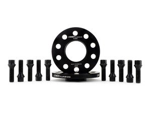 ES#3006162 - 002411ecsKT18 - ECS 12.5mm Wheel Spacer & ECS Conical Seat Bolt Kit - Aluminum wheel spacers & steel wheel bolt kit made specifically for your BMW & MINI 5x112 bolt pattern - ECS - BMW MINI
