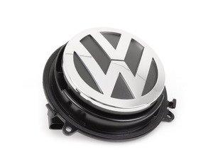 ES#346683 - 3C5827469DULM - Latch Release Switch - Hatch mounted VW emblem release switch - Genuine Volkswagen Audi - Volkswagen