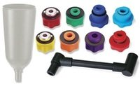 ES#3010464 - CTA7480 - 10 Piece Oil Filling System - Allows you to fill your engine with oil with out spillage or waste. - CTA Tools - Audi BMW Volkswagen Mercedes Benz MINI Porsche