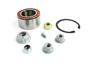 ES#1770 - 1H0498625 - Front Wheel Bearing - Priced Each - Fits the left or right side and includes necessary hardware - Ruville - Volkswagen