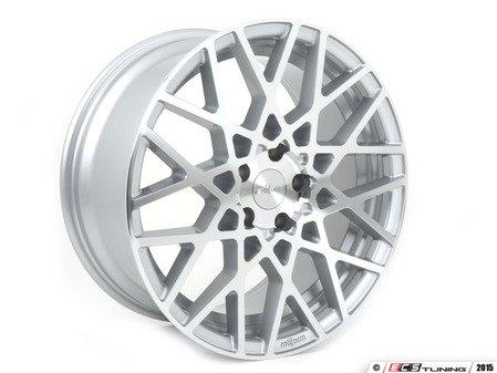 ES#2834967 - R11018854335 - 18x8.5 BLQ 5x112 Machined silver eT35 CB66.6mm  - Rotiform -