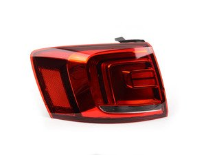 ES#2606656 - 5C6945207 - Outer LED Tail Light Assembly - Left - Genuine replacement - Genuine Volkswagen Audi - Volkswagen