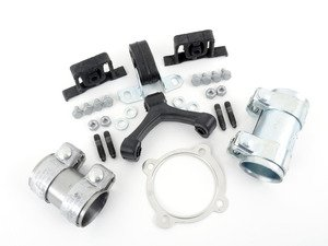 ES#2581640 - 1J0253144GKT2 - ECS Turbo-Back Exhaust Installation Kit - Everything you need to install an exhaust from the manifold back - Assembled By ECS - Volkswagen