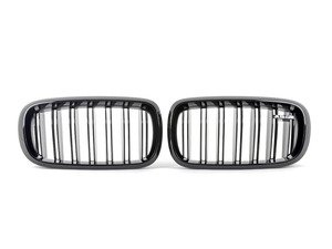 ES#2954006 - 51712354497KT - Genuine BMW F85 X5M M Performance Gloss Black Grilles - A must have for every ///M owner - Genuine BMW M Performance - BMW