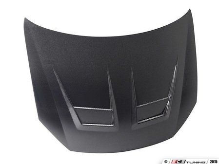 ES#3010161 - HD1011VWGTIBDV - carbon fiber hood - DV-Style - Without Emblem Notch  - Add style and remove weight from the front end of your MK6! Perfect for badgeless set-ups. - Seibon - Volkswagen
