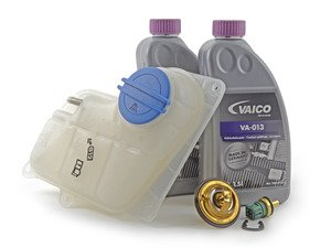ES#2778104 - 078121113fkt1 - Cooling System Refresh Kit - Service your critical cooling system components with this complete kit. - Assembled By ECS - Audi