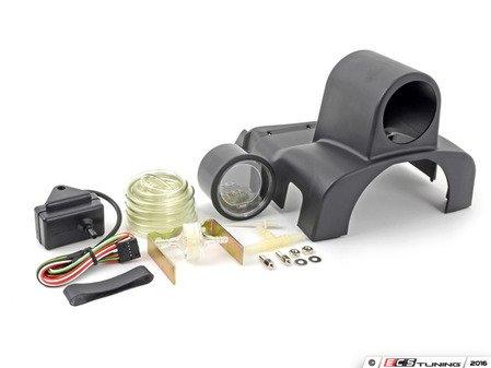 ES#3010047 - 216evobomk4KT - FullPod & EVO Series Digital Boost Gauge Kit - Digital boost gauge with dimmable red or blue backlighting with NSP FullPod - Assembled By ECS - Volkswagen