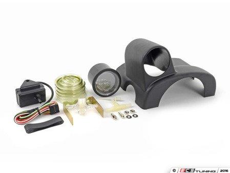 ES#3010050 - 216evobomk6jKT - ColumnPod & EVO Series Digital Boost Gauge Kit - Digital boost gauge with dimmable red or blue backlighting with NSP ColumnPod - Assembled By ECS - Volkswagen
