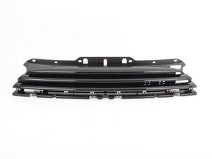ES#2166031 - 51112751291 - Front Grille Center - Black - Mounts to the front of the hood - Genuine MINI - MINI