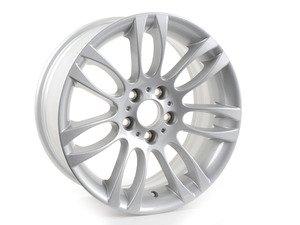 "ES#64994 - 36116775605 - 18"" Double spoke style 195 - Priced Each - 18x8 ET34 CB 72.6mm. - Genuine BMW - BMW"