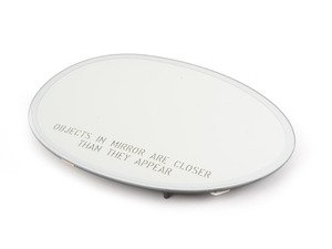 ES#2734807 - 51167366050 - Mirror Glass Heated Electrochromatic / Autodip - Passenger Side - Replace your broken or non working heated mirror glass - Genuine MINI - MINI