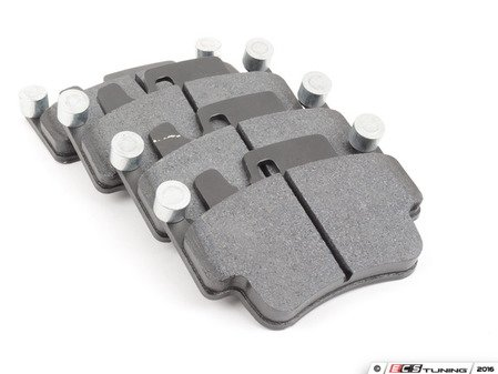 ES#2834425 - HB550B.634 - Front HPS 5.0 Performance Brake Pad Set - Next generation high performance street brake pad offering greater stopping power and pedal feel, with very low dust and noise - Hawk - Porsche