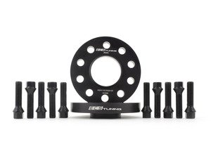 ES#3006108 - 002411ecsKT15 - ECS 20mm Wheel Spacer Kit & ECS Conical Seat Bolt Kit - Aluminum wheel spacers & steel wheel bolt kit made specifically for your BMW & MINI 5x112 bolt pattern - ECS - BMW MINI