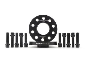 ES#3006109 - 002411ecsKT16 - ECS 17.5mm Wheel Spacers & ECS Conical Seat Bolt Kit - Aluminum wheel spacers & steel wheel bolt kit made specifically for your BMW & MINI 5x112 bolt pattern - ECS - BMW MINI