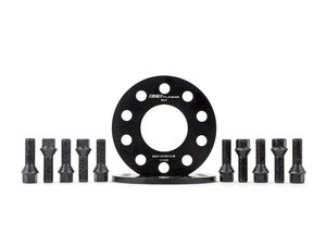 ES#3006170 - 002411ecsKT20 -  ECS 8mm Wheel Spacer Kit & ECS Conical Seat Bolt Kit - Aluminum wheel spacers & steel wheel bolt kit made specifically for your BMW & MINI 5x112 bolt pattern - ECS - BMW MINI